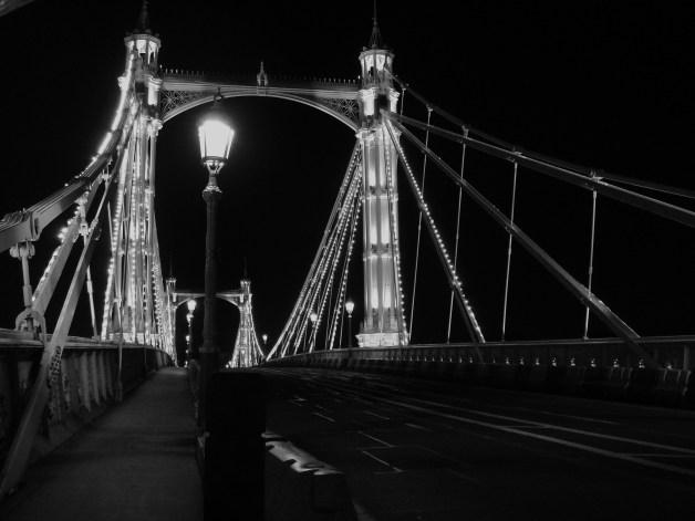 Albert Bridge at Night 7