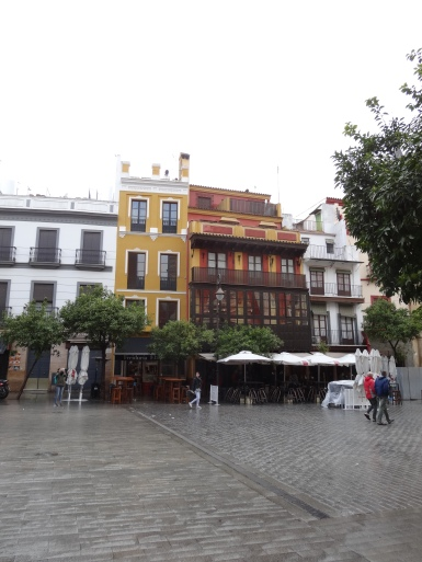 The Plaza del Salvador.