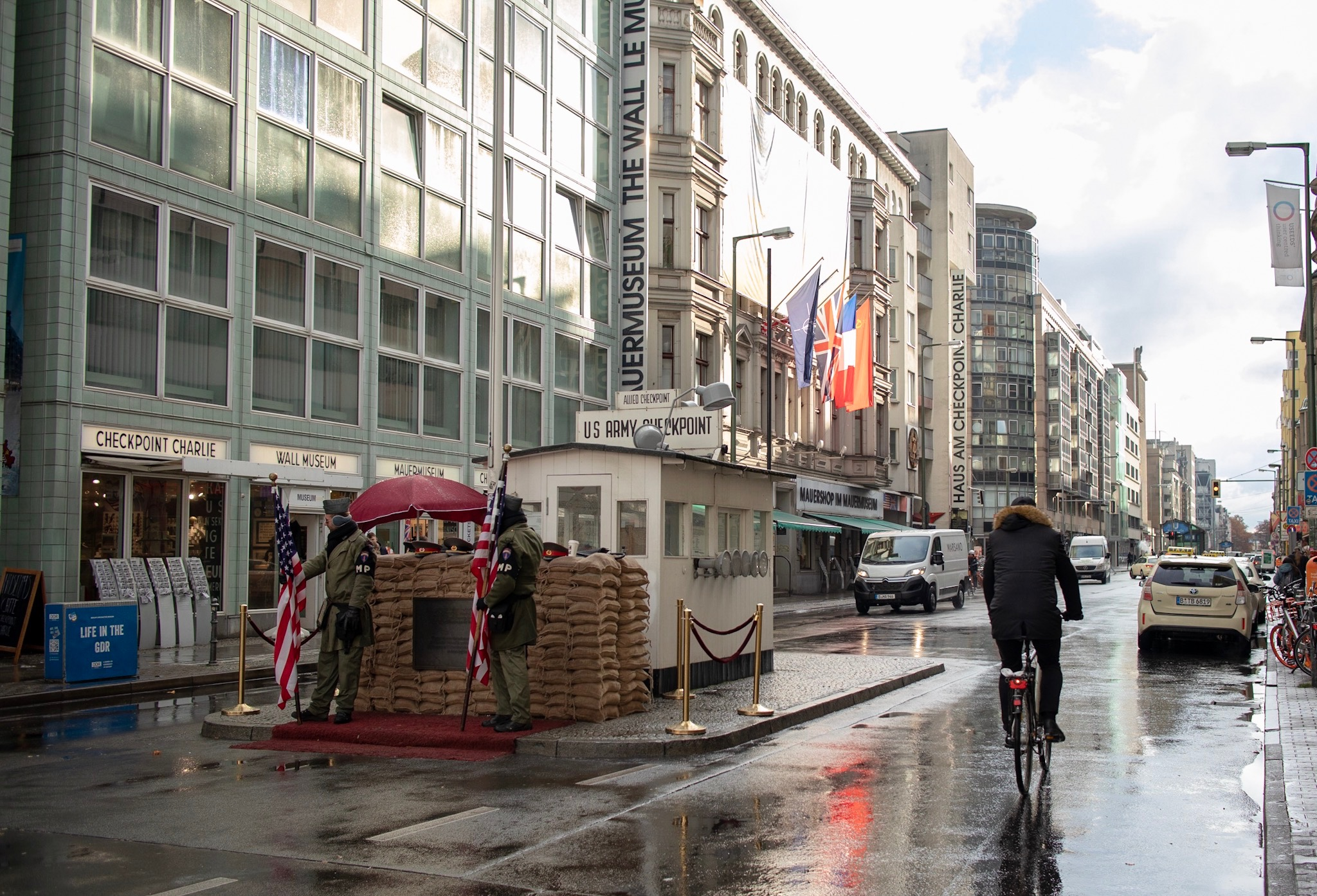 Checkpoint Charlie Border Crossing