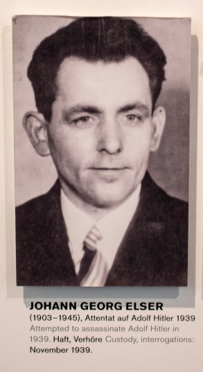 Johann Georg Elser. Hitler's would-be assassin.