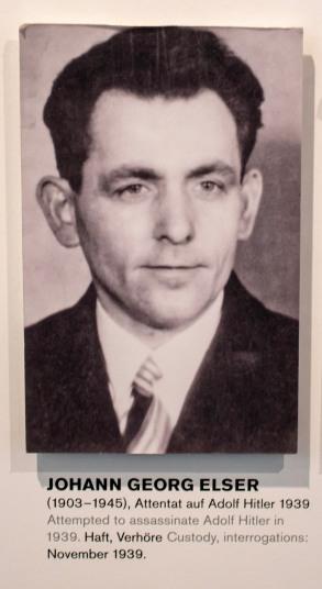 Johann Georg Elser. Hitler's would-be assassin.
